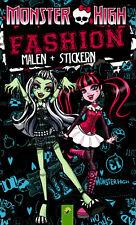 Monster High - Fashion - Malen + Stickern mit vielen schaurig-coolen Malvorlagen