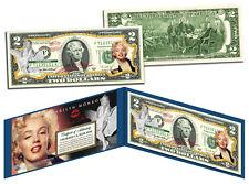 MARILYN MONROE Legal Tender U.S. $2 Bill *OFFICIALLY LICENSED* *MUST SEE*