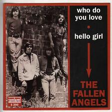 THE FALLEN ANGELS Who Do You Love M- 45 RPM P/C M-