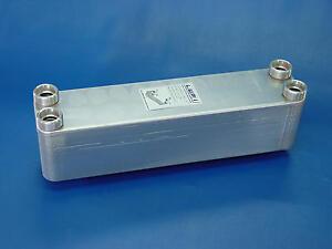609kW Edelstahl plattenwärmetauscher B3-60A-50 ohne ISO, kühlung,heizung,bhkw