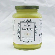 100% Pure Fresh Royal Jelly 12oz - Packaged GMP Certified facility in USA
