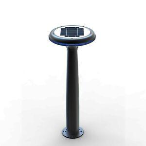 Petite Lampe de Jardin pour LED À Énergie Solaire Réverbère Extérieur