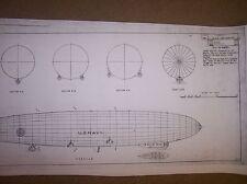 USS LOS ANGELES airship model plans