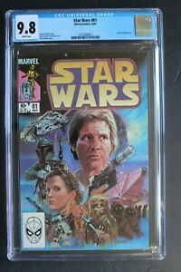 STAR WARS #81 Classic BOBA FETT 1984 1st Post-JEDI story Mandalorian DTV CGC 9.8