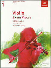 Violin Exam Pieces 2016-2019 ABRSM Grade 1 Part Only Sheet Music Book
