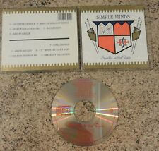 Simple Minds - Sparkle In The Rain - Original UK Issue CD