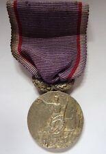 Médaille union des amicales laique du nord - argent