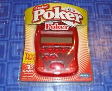 2 In 1  Poker Electronic Handheld Travel Game New In The Package