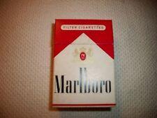 collectible Marlboro cigarette box without Surgeon General warning Circa l960