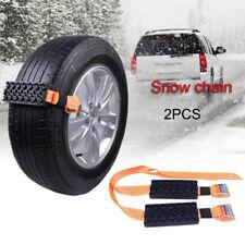 2 Pcs Car Tire Anti-Skid Block Vehicle Emergency Snow Chain