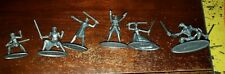 Monopoly Star Wars The Clone Wars 6 Metal Tokens Sith Jedi Complete Free US Ship