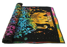 New Baby Quilt Multicolor Elephant Tree Tie Dye Coverlet With 100% Cotton Filled