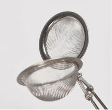 Stainless Steel Mesh Ball Spoon Herb or Tea Leaf Infuser Strainer Filter SA