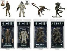 "NECA ALIENS SERIES 8 FULL SET of 4 ACTION FIGURES 7"" SCALE"