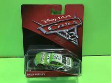 Disney Pixar Cars 3 Brick Yardley Diecast Toys 2016  Mattel Racing Movies