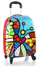 "Heys Britto 20"" Spinner Luggage Carry On Tween Suitcase - Butterfly"