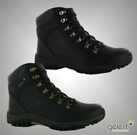 Mens Gelert Lace-Up Leather Walking Hiking Outdoor Boots Sizes UK 7-13