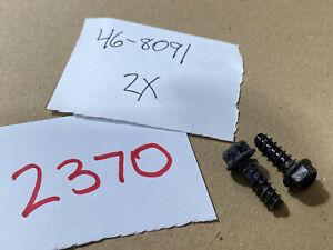 Toro 46-8091 Chute Hinge Screw fits ratchet 108-4942 (#2370)