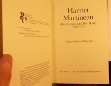 HARRIET MARTINEAU 1802-1876 - VALERIE KOSSEW PICHANICK - SOCIOLOGY - WOMEN -BIO