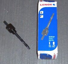 "Lenox  #1779803 4L Arbor with 4-1/4"" Pilot Drill Bit for Hole Saws 9/16""-1-3/16"