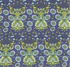 OOP Tula Pink - MOON SHINE - Deer Me Indigo 100% cotton Fabric