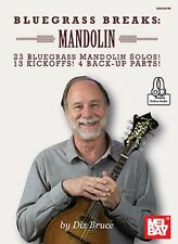 Bluegrass Breaks 23 Mandolin Solos! Dix Bruce Tab Book NEW!