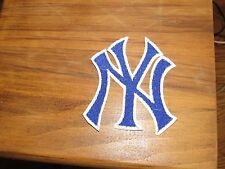 "MLB New York Yankees Blue  3"" Sewn/Iron On Patch  US Seller!"