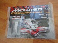 ISSUE 27 DEAGOSTINI 1/8 BUILD YOUR OWN MCLAREN MP4/23 LEWIS HAMILTON 2008 F1 CAR