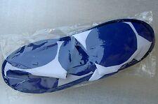 MARIMEKKO FINNAIR AIRLINES FIRST CLASS SLIPPERS SIZE L BLUE WHITE NEW
