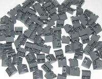 Lego Lot of 100 New Dark Bluish Gray Slopes Inverted 45 2 x 2 Sloped Parts