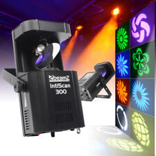 2x Beamz IntiScan300 LED Gobo Scanner Lights Essex