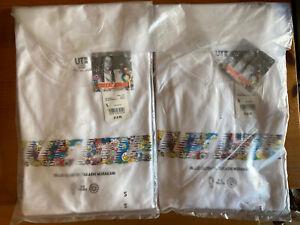 New UNIQLO Takashi Murakami x Billie Eilish Women's White Graphic T-Shirt Small