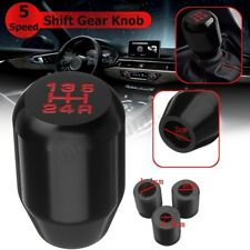 Universal 5 Speed Car Manual Gear Shift Knob Head Stick Shifter Aluminum AU