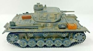 2002 21st Century Toys - Ultimate Solider WW2 German Panzer III Tank 1:32 Scale