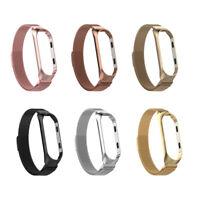 Bracelet avec Coque pour Xiaomi Mi Band 3/4 Sangles de Remplacement pour
