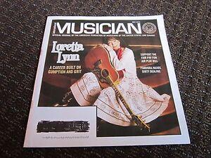 Loretta Lynn 2015 Article Pictures MUSICIAN Magazine Union Publication FreeShip