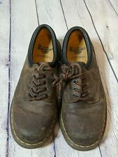 Dr Martens Brown Leather Shoes Low-Top 5 Eye Size UK 9 US 10 8053