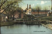 Danielson CT Quinebaug Mills c1910 Postcard