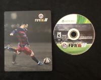 FIFA 16 Limited Steelbook Edition — Excellent Condition! (Xbox 360, 2015)