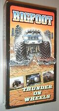Bigfoot Thunder on Wheels Monster Truck VHS w/ Exclusive Bob Chandler Footage
