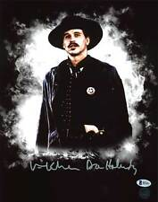"Val Kilmer Tombstone ""Doc Holliday"" Authentic Signed 11X14 Photo Autographed BAS"