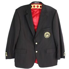 Country Club Golf Blazer Custom MADE in USA 48R Embellished Buttons Official LSC