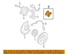 GM OEM Brake-Front Pads 88964424