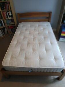 Warren Evans Small Double Bed Frame + Mattress