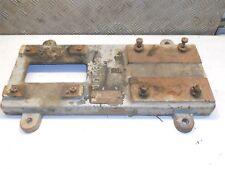 Socle fonte pompe à eau industrielle 525 x 310 mm vintage, déco, loft, steampunk