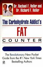 New, Carbohydrate Addict's Fat Counter, Rachael F. Heller, Richard F. Heller, Bo