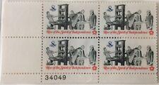 1973 8c Pamphlet Printing plate block of 4, Scott #1476, MNH VF