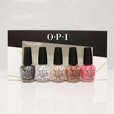 OPI MINI Nail Lacquer Set 5 piece - TREND ON TEN Nudes Shades Bright Colours Kit