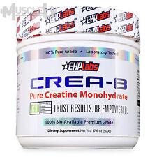 EHPlabs Crea-8 - 100 Serves - Pure Creatine Monohydrate Crea8 Buzz OxyShred