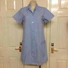 Blue check dress,Gingham.Professional hospital or Fancy dress Dorothy.Oz Size 36